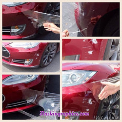 Paint protection film, película anti rayones #nuskingraficas #carwrapmarbella #carwrapsevilla #puert
