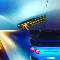 Some closeup pix from our wrap back in December, Halifax, Canada #matteppf #ppf #paintprotectionfilm