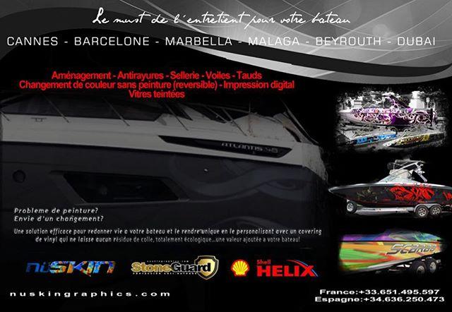 Todo para tu barco! Le must pour personalisé votre bateaux #bateaux #marbella #MarbellaClub #marbell