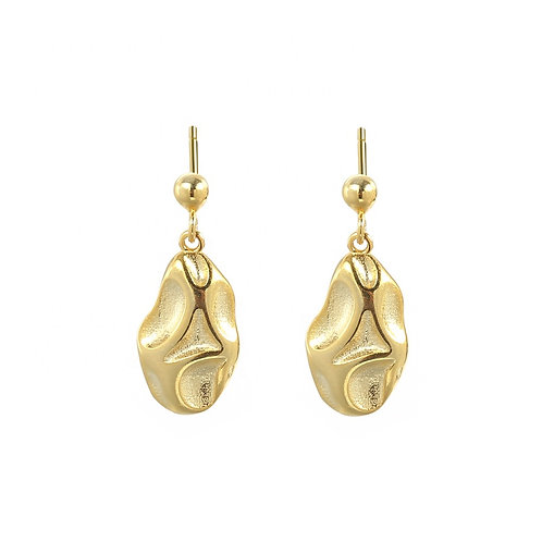 Gold Aurora Earrings