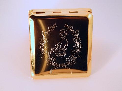 Zigarettenetuis handgraviert / cigarette cases hand engraved