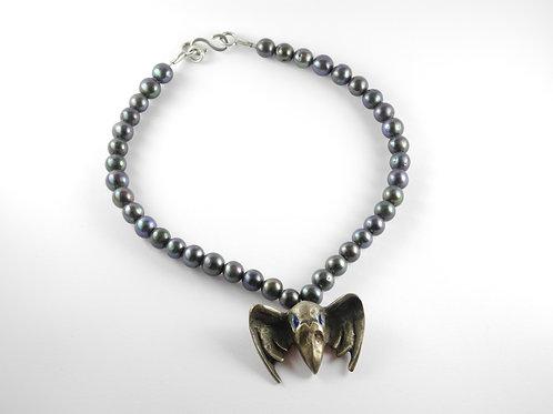 Kollier Der Rabe / necklace The Raven