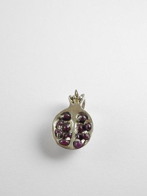 Anhänger Granatapfel mit Rubin / pendant Pomegranate with Ruby