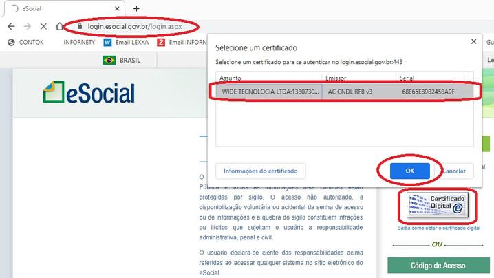 7 - Exclusão de Eventos XML enviados ao eSOCIAL