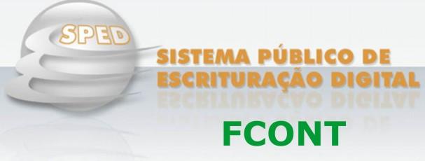 GERAÇÃO DO ARQUIVO SPED FCONT!
