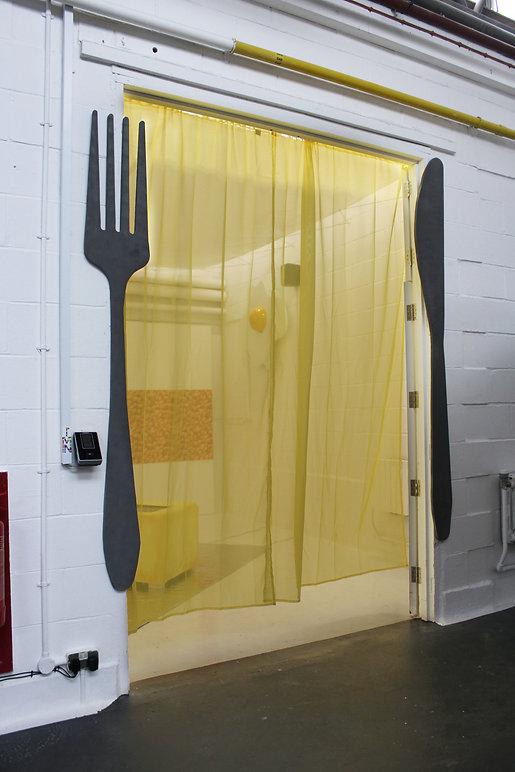 isis whiteaway installation entrance 201