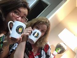 cups at xmas