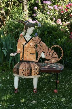 Un tigre dans mon jardin
