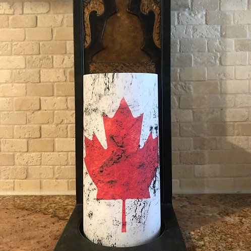 Any State or Country Flag, Tall, Flameless Candle, 4x8, Keleka Designs