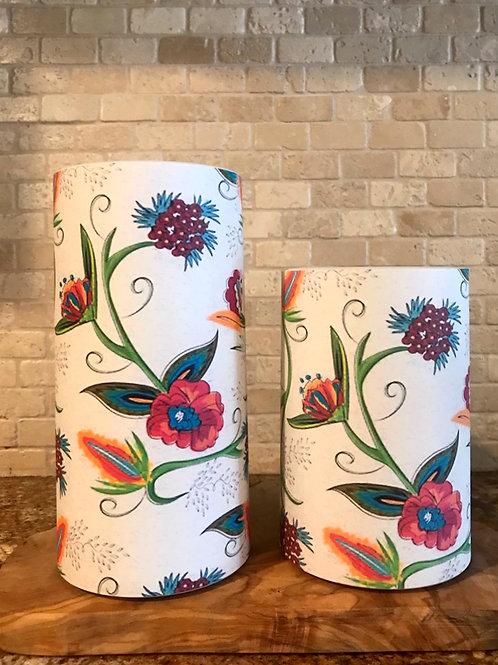 Boho Spring, Set, Flameless Candle, 4x6, 4x8, Keleka Designs