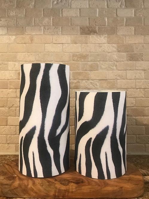Luxury Animal Prints, Set, Flameless Candle, 4x6, 4x8, Keleka Designs