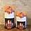 Thumbnail: Fall Fireplace Mantel, Set, Flameless Candle, 4x6, 4x8, Keleka Designs