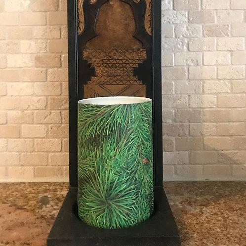 Christmas Tree, Flameless Candle , 4x6, Keleka Designs
