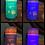 Thumbnail: Sea Turtles, Tall, Flameless Candle, 4x8, Keleka Designs