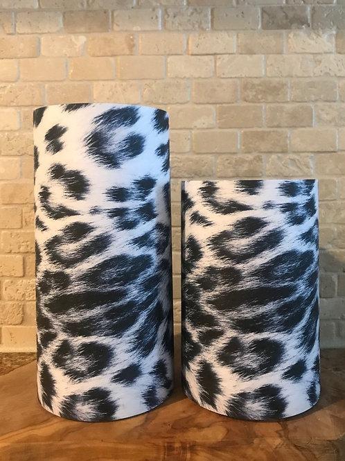 Leopard of Luxury, Set, Flameless Candle, 4x6,4x8, Keleka Designs