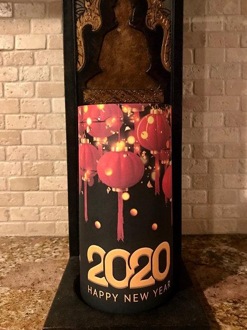 New Years Lanterns, Tall,  Flameless Candle, 4x8, Keleka Designs