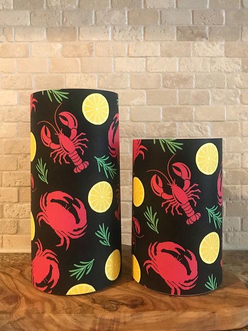 Seashore Delights, Set, Flameless Candle, 4x6,4x8, Keleka Designs
