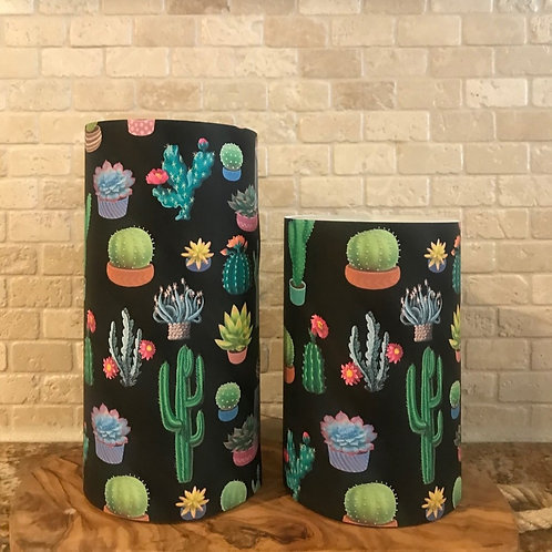 Cactus Love, Set, Flameless Candle, 4x6,4x8, Keleka Designs