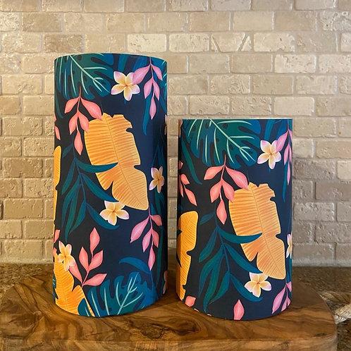 Tropical Summer, Set, Flameless Candle, 4x6,4x8, Keleka Designs