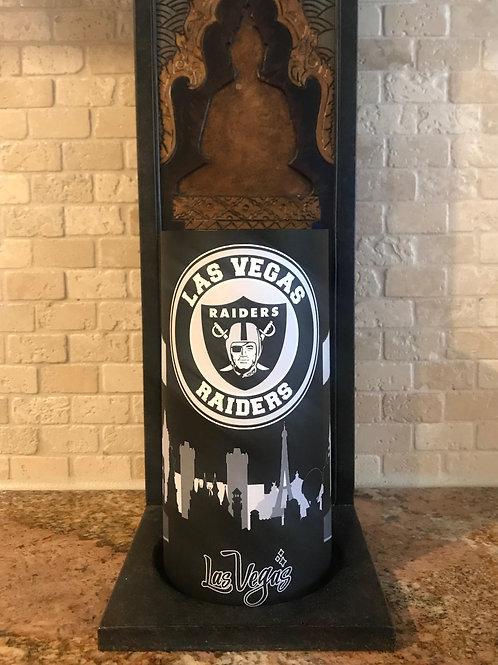Las Vegas Raiders, Flameless Candle, 4x8, Keleka Designs