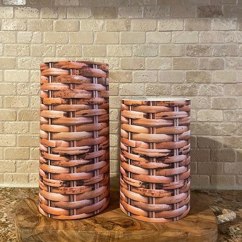 Gift Basket, Set, Flameless Candle, 4x6, 4x8, Keleka Designs