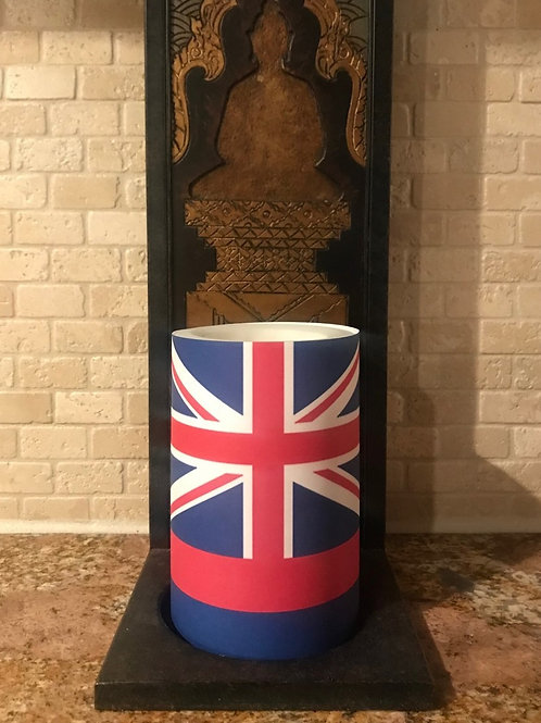 Hawaii Flag or Vintage Flag, Flameless Candle, 4x6, Keleka Designs