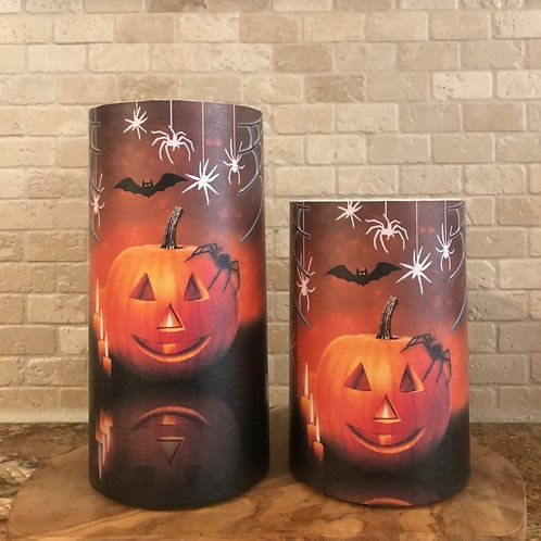 Spooktacular, Set, Flameless Candle, 4x6, 4x8, Keleka Designs
