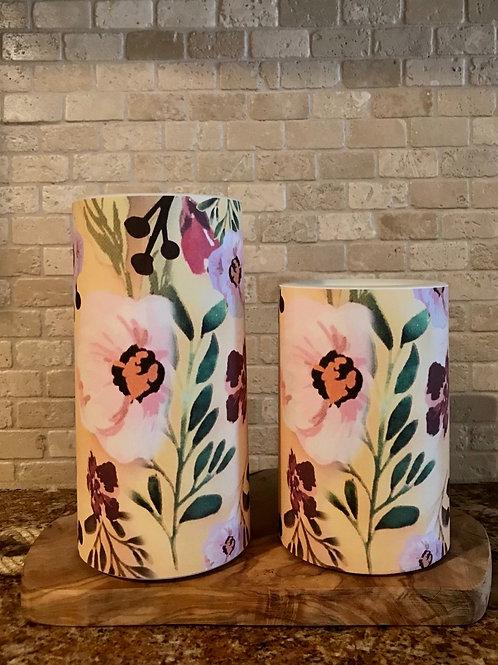 Fall in Love, Set, Flameless Candle, 4x6, 4x8, Keleka Designs