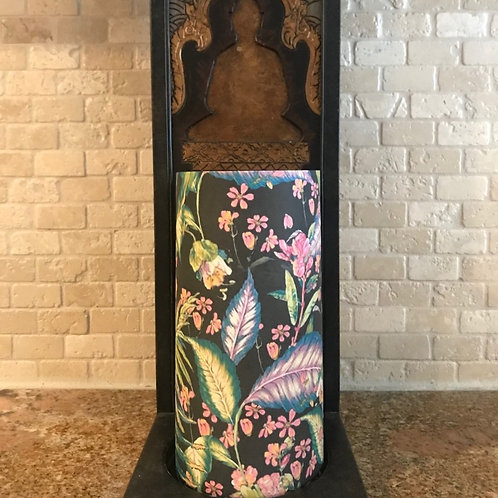 Paradise Flowers, Tall, Flameless Candle, 4x8, Keleka Designs