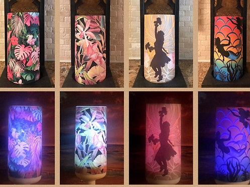 New Product /Color Changing Candles, Tall, Flameless Candle, 4x8, Keleka Designs