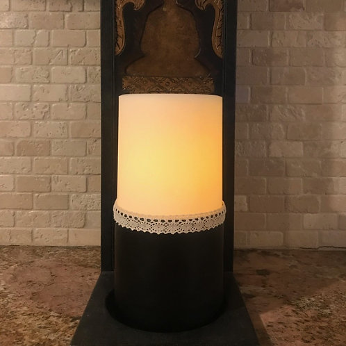 Sexy You, Tall,  Flameless Candle, 4x8, Keleka Designs