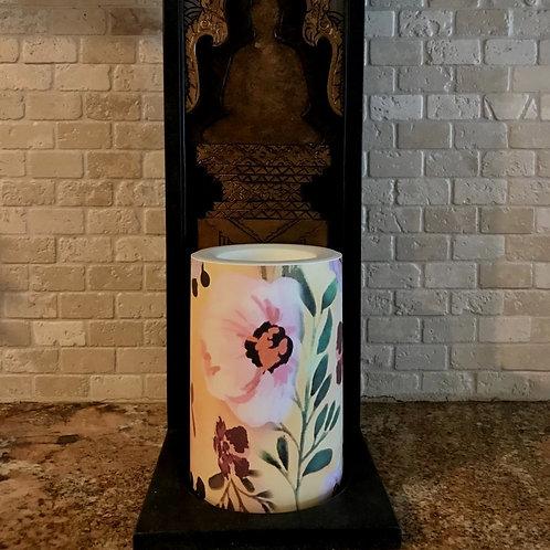 Fall in Love,  Flameless Candle, 4x6, Keleka Designs