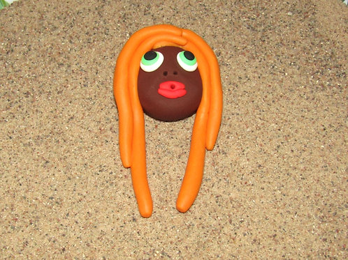 Incense holder, Orange, Keleka Designs