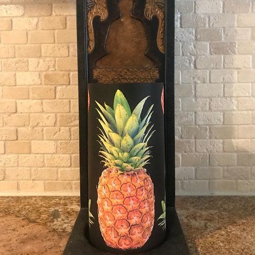 Stand Tall Like a Pineapple, Tall, Flameless Candle, 4x8, Keleka Designs