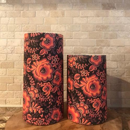 Fall Harvest, Set, Flameless Candle, 4x6,4x8, Keleka Designs