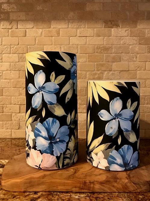 Blue Hawaii, Set, Flameless Candle, 4x6, 4x8, Keleka Designs