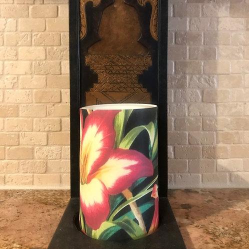 Exotic Summer, Flameless Candle, 4x6, Keleka Designs