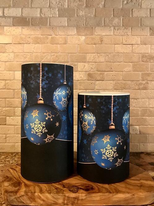 Holiday Elegance, Set, Flameless Candle, 4x6, 4x8, Keleka Designs