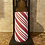 Thumbnail: Candy Cane, Tall, Flameless Candle, 4x8, Keleka Designs
