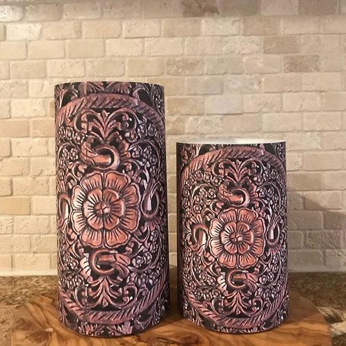 Carving Dreams, Set, Flameless Candle, 4x6, 4x8, Keleka Designs