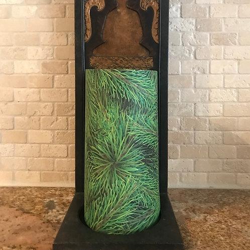 Christmas Tree, Tall, Flameless Candle , 4x8, Keleka Designs