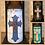 Thumbnail: Vintage Cross, Tall,  Flameless Candle, 4x8, Keleka Designs