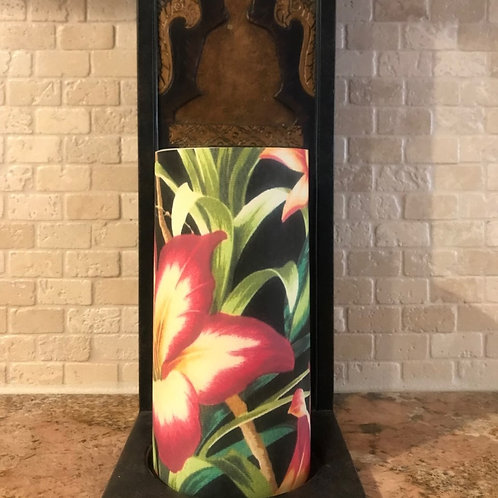 Exotic Summer, Tall, Flameless Candle, 4x8, Keleka Designs