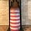 Thumbnail: Americana Flag, Tall, Flameless Candle, 4x8, Keleka Designs