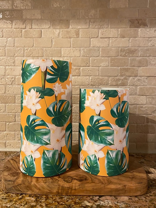 Spring is Blooming, Set, Flameless Candle, 4x6, 4x8, Keleka Designs