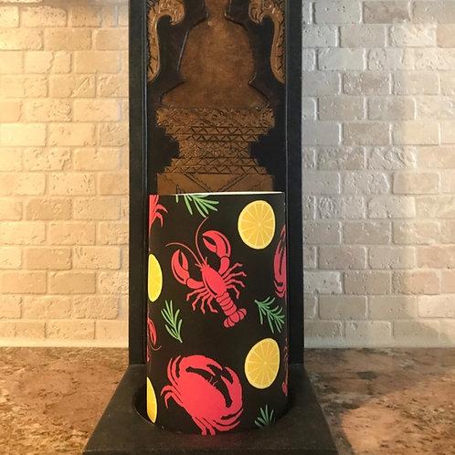 Seashore Delights, Flameless Candle, 4x6, Keleka Designs