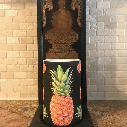 Stand Tall Like a Pineapple, Flameless Candle, 4x6, Keleka Designs
