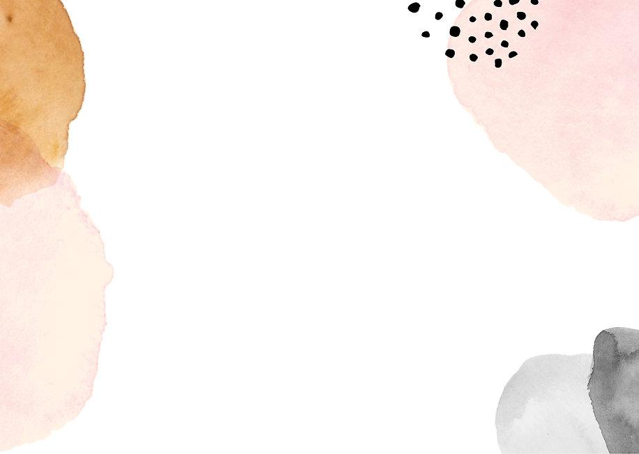 Black and Pink Script Watercolor Brush W