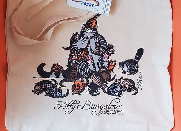 B. Kliban KB Cats Tote