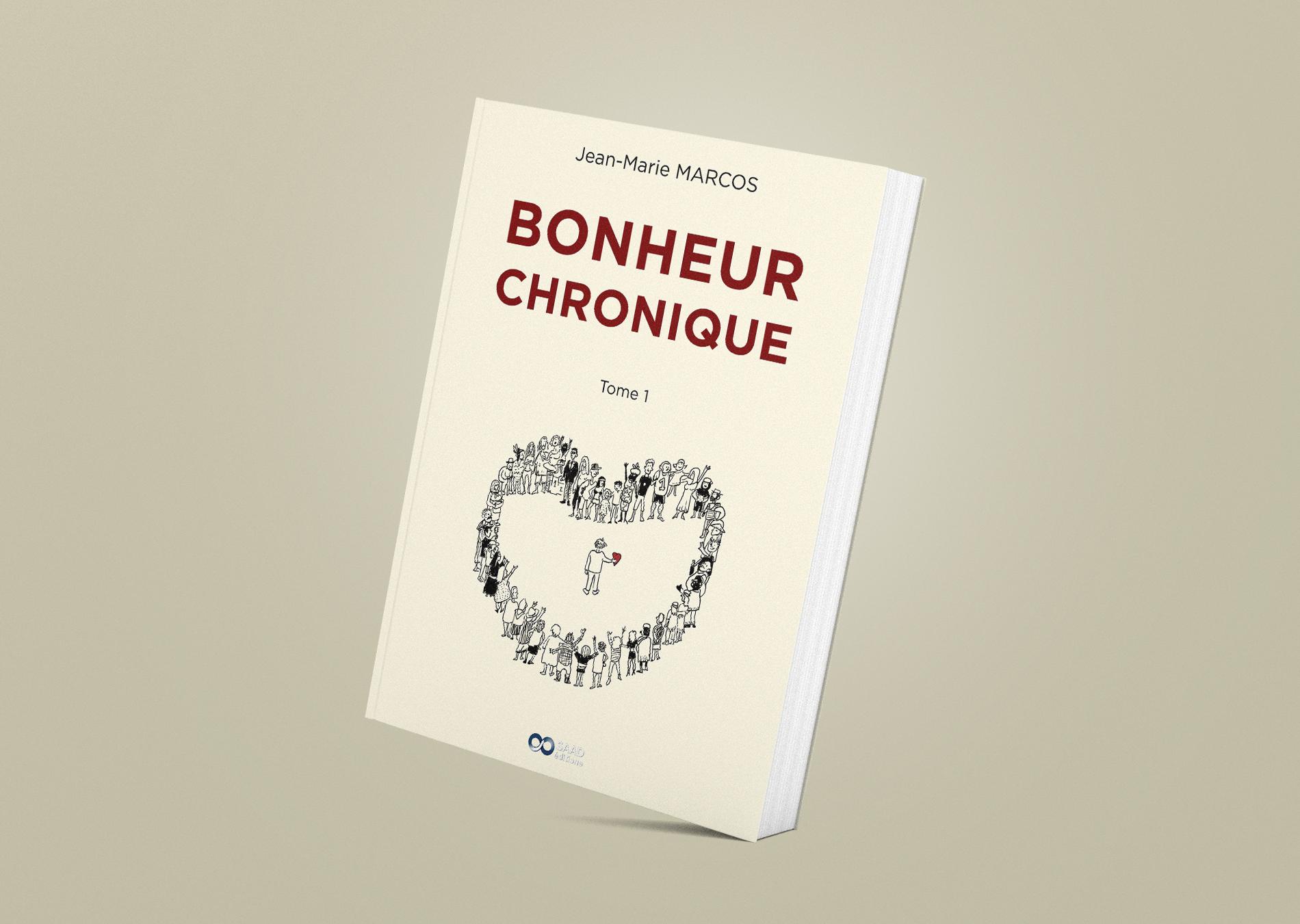 Bonheur Chronique Livre Mockup